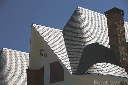 Tejados de casas foto muestra varias vistas en pars - Tejados de casas modernas ...